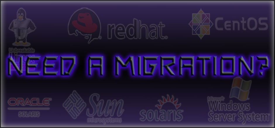 Operating System migration